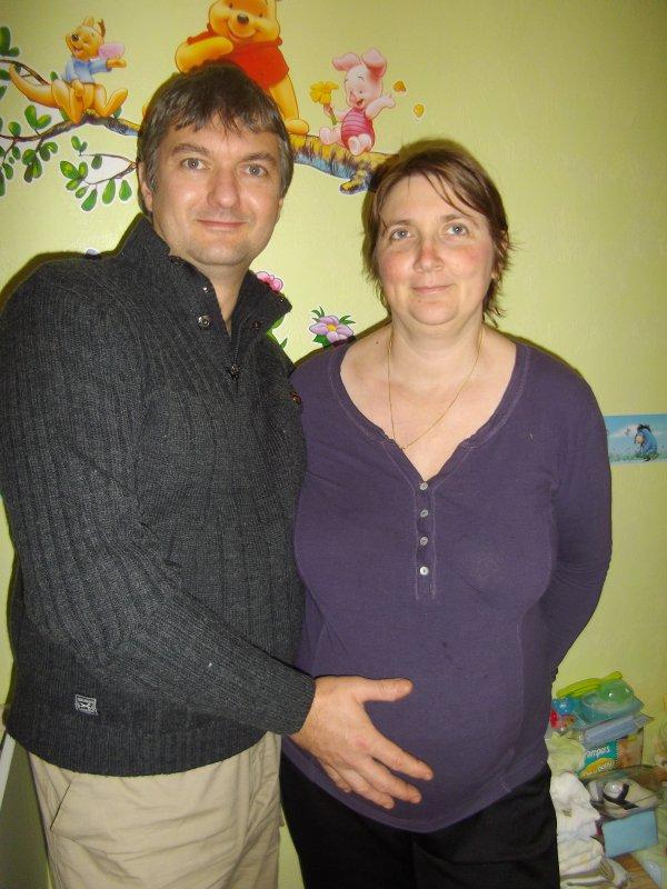 Futur Papa et Futur Maman le 03 Novembre 2013
