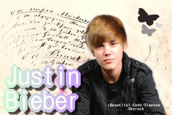 Justin Bieber . Ton blog source sur Justin Bieber ! ♥ Deviens Fan ◕ Rejoins mon groupe