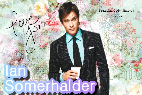 Ian Somerhalder ♥ Ton blog source sur Justin Bieber ! ♥ Deviens Fan ◕ Rejoins mon groupe