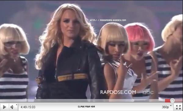 Britney is not back. C'est mon avis,chacun le sien.