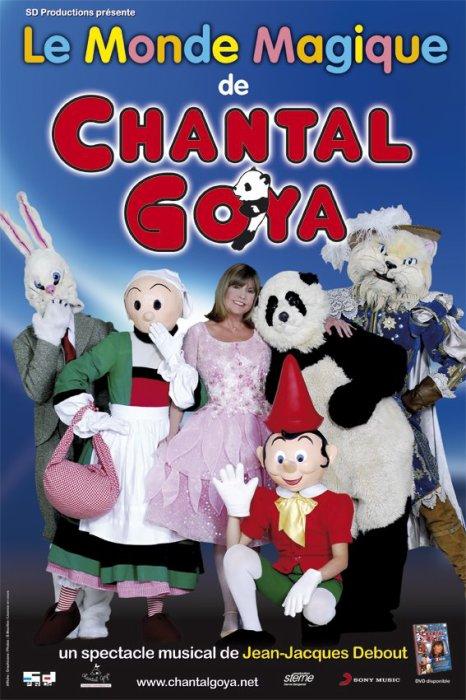 """Chantal Goya sera au Palais des Congres de Paris avec """"LA PLANETE MERVEILLEUSE"""" du 11 au 26 janvier 2014 !"""