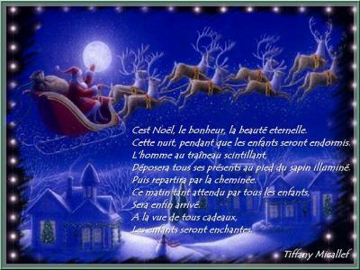 Poeme De Noël De Tiffany Les Fournieres