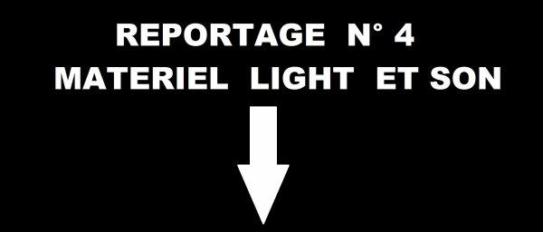 MATERIEL SONO ET LIGHT