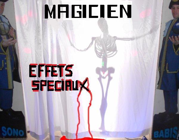 DECORATION HALLOWEEN ET LA MAGIE EFFETS SPECIAUX