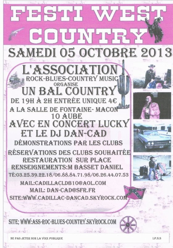 BAL COUNTRY LE 05 OCTOBRE 2013
