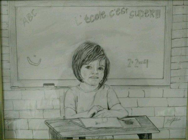 La petite écolière