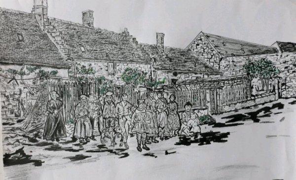 Rue du tilleul hameau de violaine