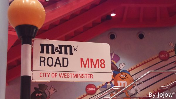 M&M's Road in M&M's World of London