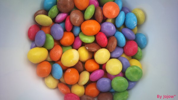 Smarties and M&M's