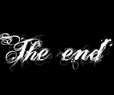 C'est la fin...ça y est...