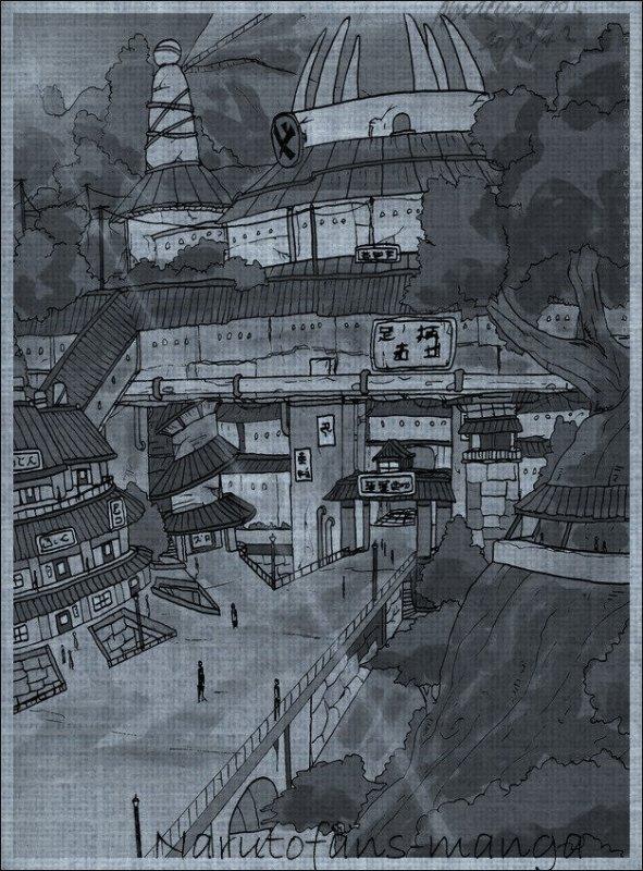 Tout les infos sur le village de Konoha