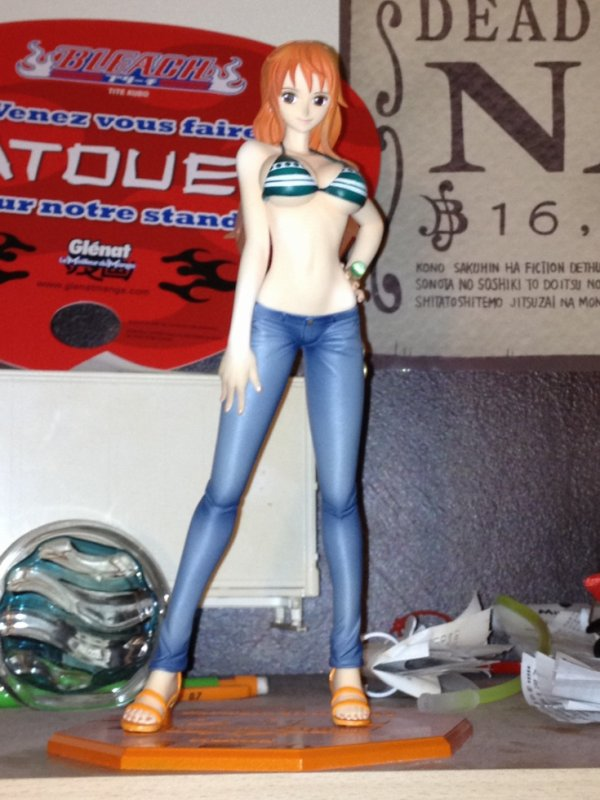 figurine one piece nami 2ans plus tard