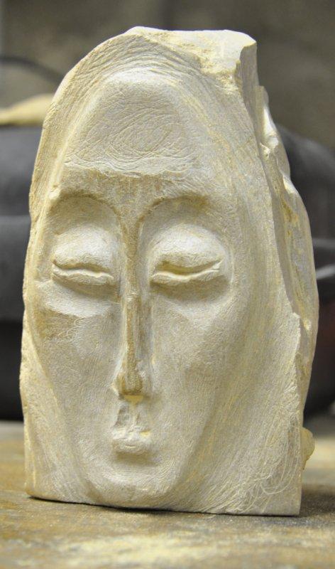 Sculpure sur pierre stéatite