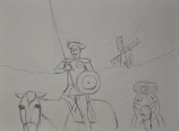 Dessin projet Don Quichote