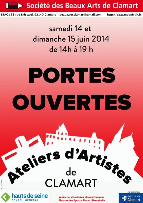 Journée Portes ouvertes , Ateliers d'artistes