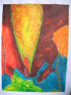 Acrylic sur papier 5
