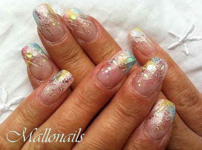 Pastel&glitter