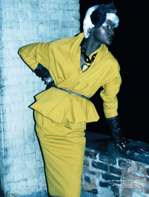 """Les images de la Fashion week de Paris, le remix """"Whip nmy Hair"""" de Willow Smith feat. Nicki Minaj, Amare Stoudemire nu pour ESPN Magazine....."""