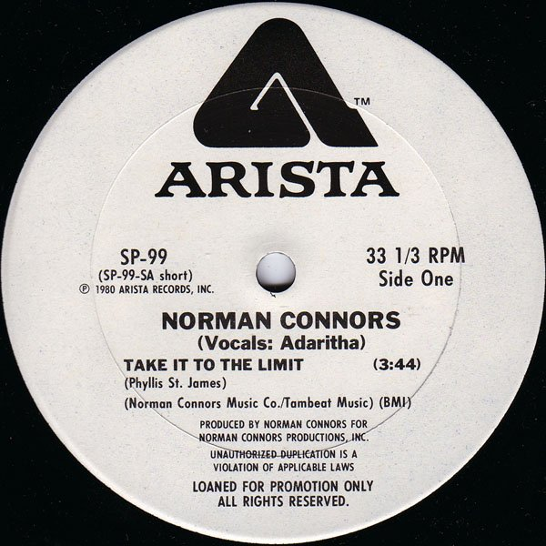 Norman Connors - 1980: take it to the limite ( par funkkhalid collection)