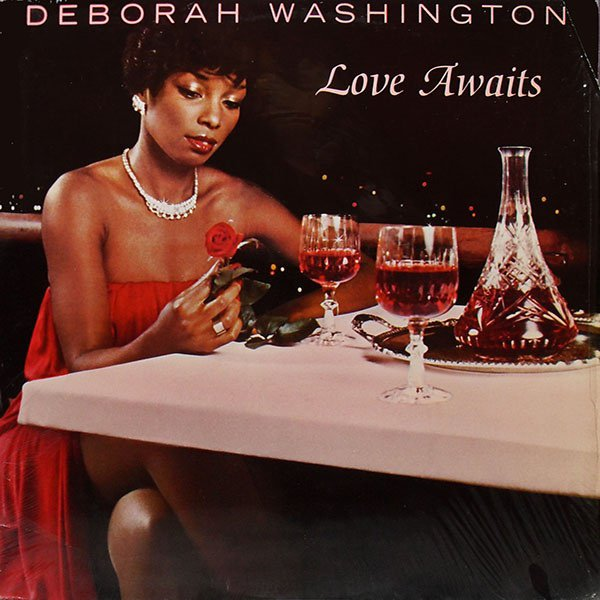 "DEBORAH WASHINGTON 1979 - LP : "" Love Awaits "" Ariola Records America"