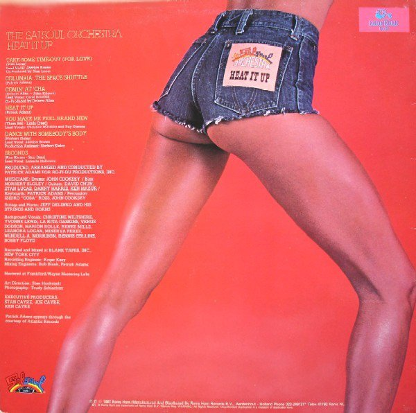 The Salsoul Orchestra 1982  – Heat It Up Label The Salsoul Orchestra