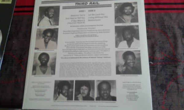 A VENDRE LP THIRD RAIL 1982 (neuf sceller) 20¤