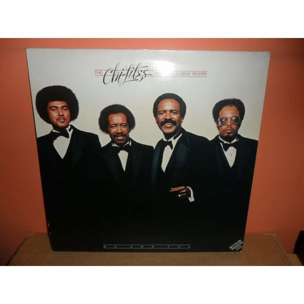CHI LITES 1981 LP  -  me and you chez century fox