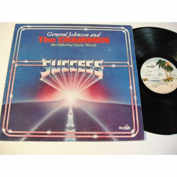 "GENERAL JOHNSON AND THE CHAIRMEN 1980 - LP - "" Success """