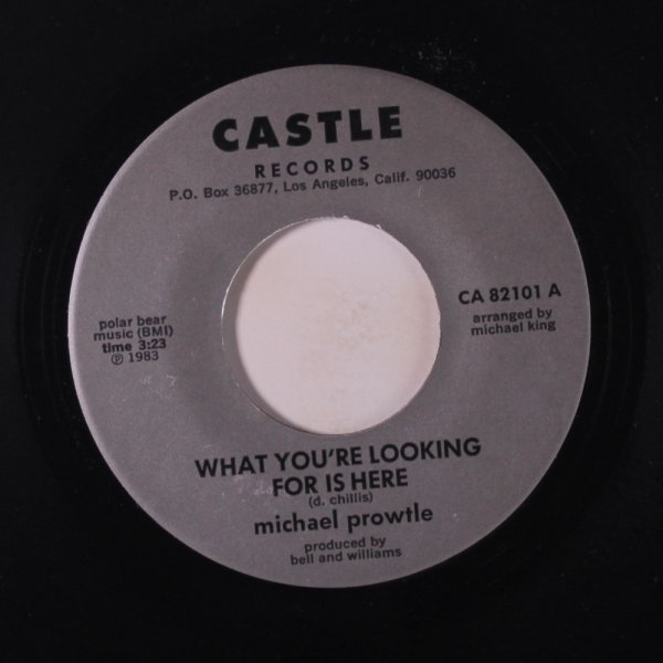 Michael Prowtle - What you're looking for is here