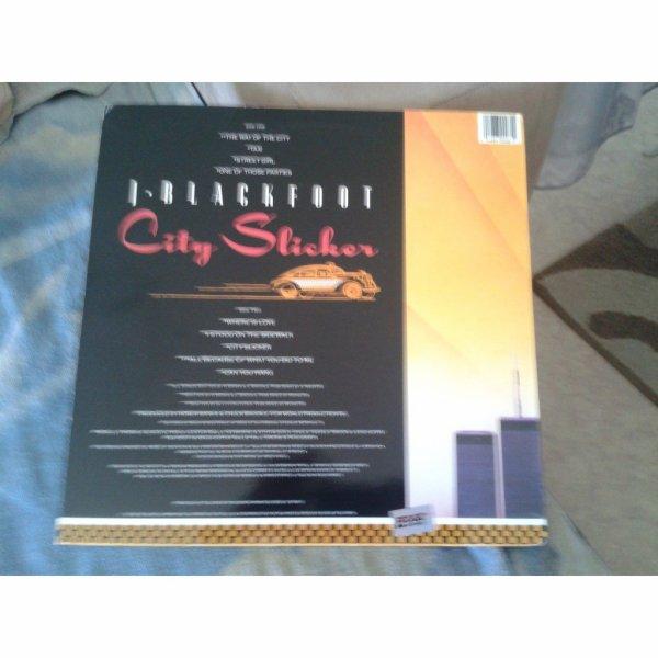 J. Blackfoot 1988  – City Slicker  -  J. blackfoot – city slicker Label Edge Records