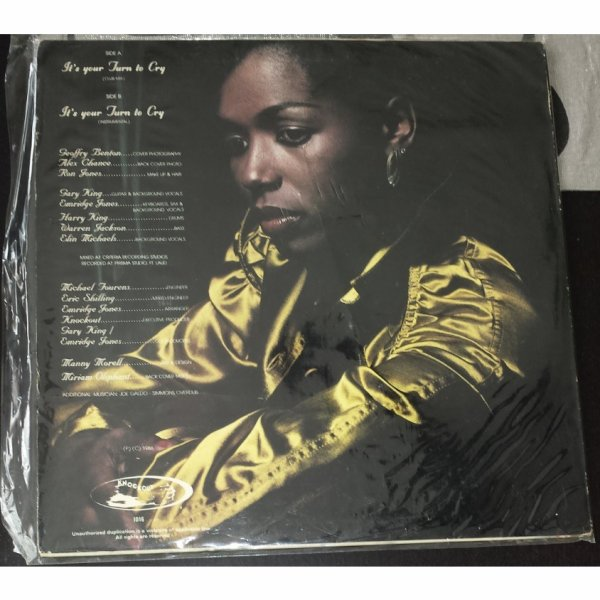 CORNELIUS OLIPHANT It's You Turn To Cry 1986 original