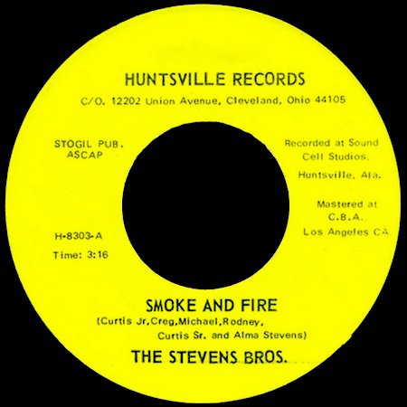 The Stevens Bros. -  Love Crazy (Huntsville Records , 1983)