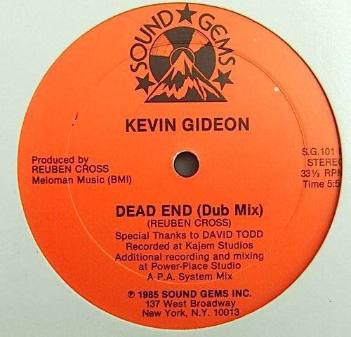 Kevin Gideon 1985 dead end en 1985.