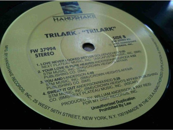 Trilark 1982 - S/T (Handshake Records and Tapes,)