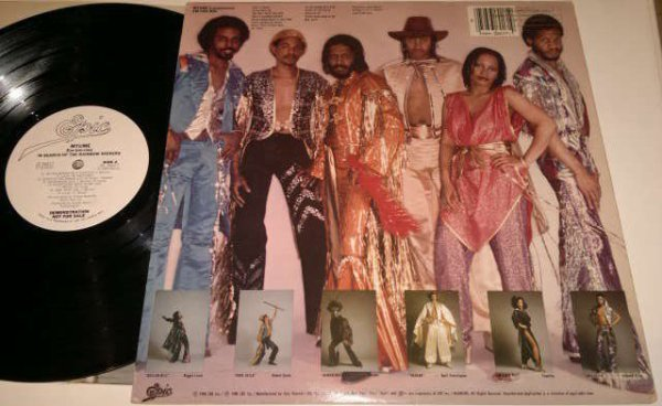 MTUME 1980 - In Search Of The Raimbow Seekers lp chez epic records