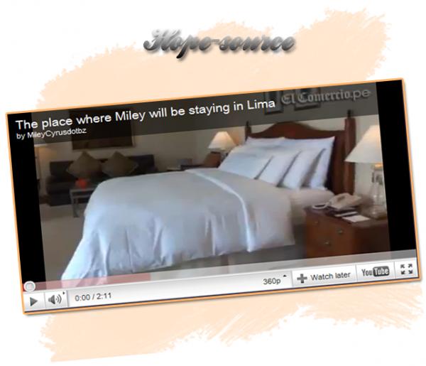 http://www.weetix.fr/z/SN649MQ/potinscyrus Découvre la Chambre de Miley lors de son prochain Concert  au Pérou ! http://www.weetix.fr/z/SN649MQ/potinscyrus