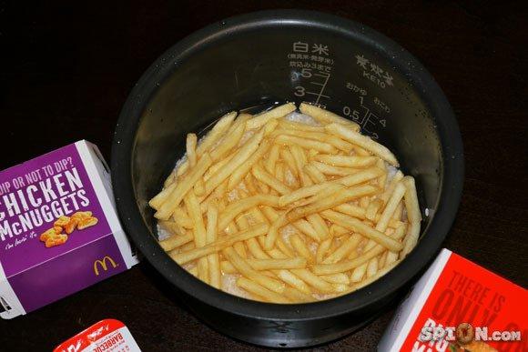 ki c la famme kil fai toujour des frite ke jamai il cuiné ??