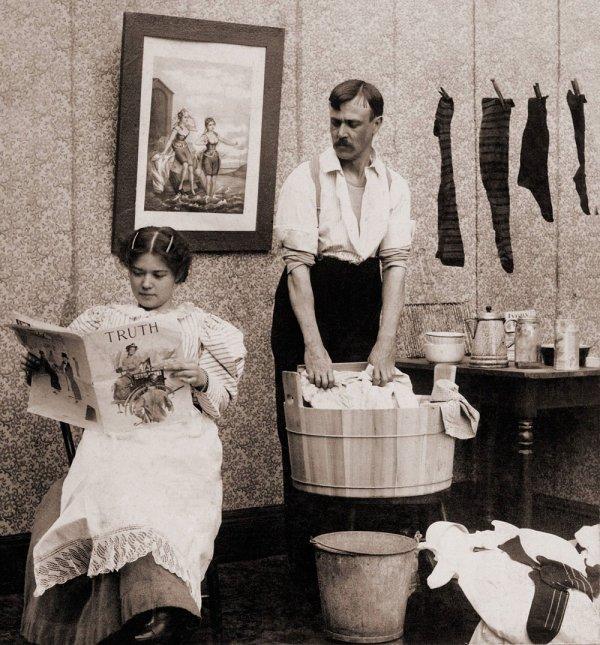 c ki lomme ki fait le ménage à la place de sa femme celui ke tu conais ki