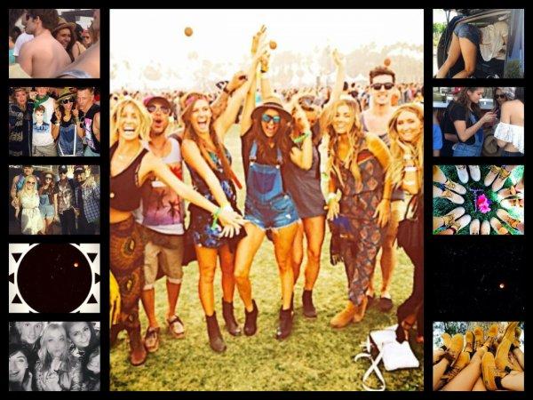 Coachella Festival (day 1 & 2) + Personal photos