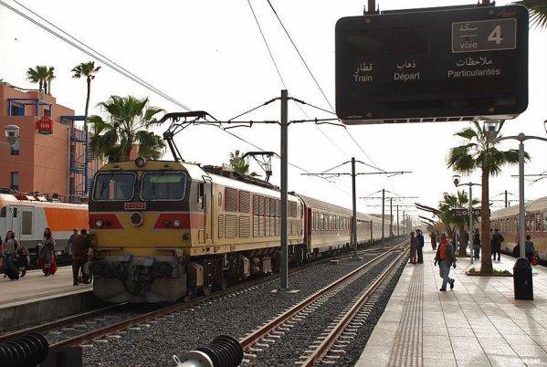 E-1256 Arrive à Marrakech