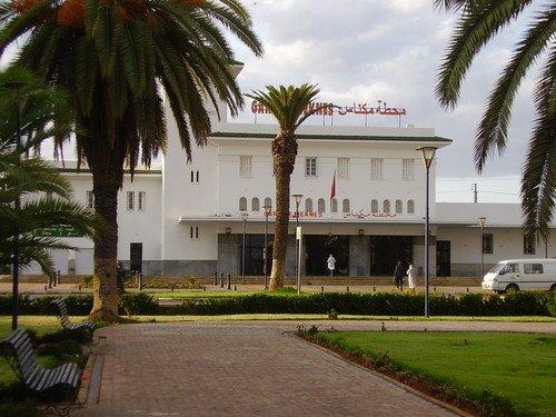La gare de Meknes