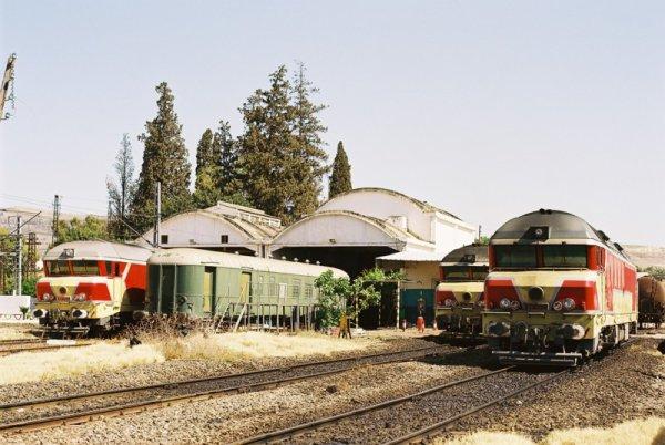 DF-105 , DF-106 et DF-112 à Sidi kacem Atelier