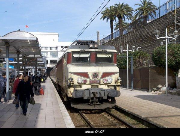 La E-1307 à Rabat Ville