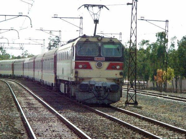 La E-1254 à Settat