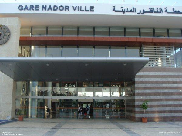 Gare Nador ville