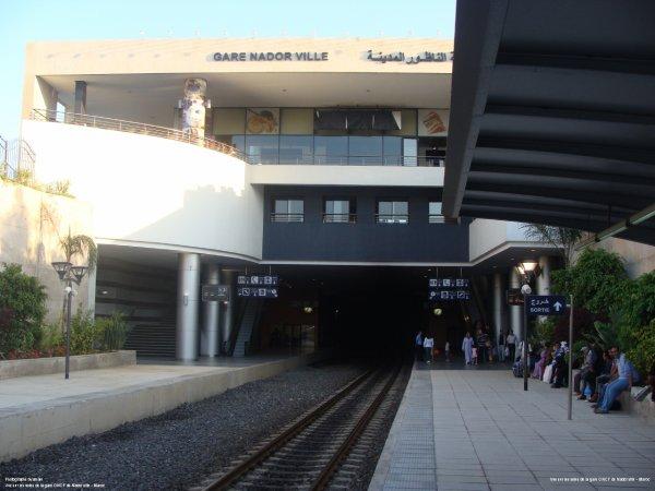 Gare de Nador ville
