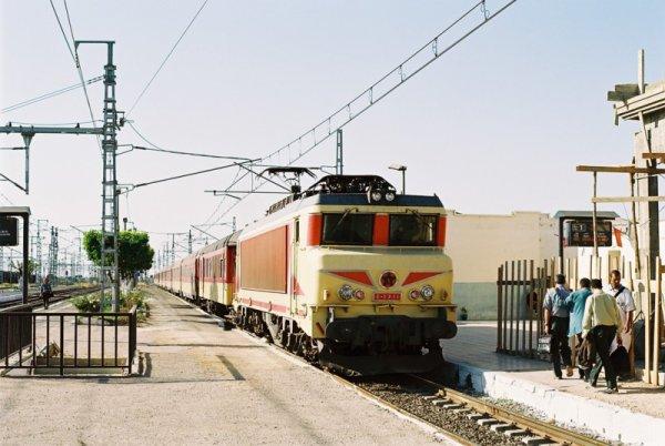 La E-1311 Arrive à Sidi kacem