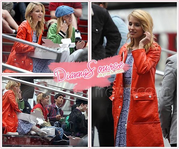 • LE 25 AVRIL 2011||Dianna est actuellement sur le tournage de Glee à New-York ! L'épisode 22 sonne le dernier épisode de la saison 2 de Glee! Au sujet de la saison 3 : plus d'informations très vite...  ▬▬ ▬▬ ▬▬ ▬▬ ▬▬ ▬▬ ▬▬ ▬▬ ▬▬ ▬▬ ▬▬  ▬▬ ▬▬ ▬▬ ▬▬ ▬▬ ▬▬ ▬▬ ▬▬ ▬▬ ▬▬ ▬▬ ▬▬ ▬▬