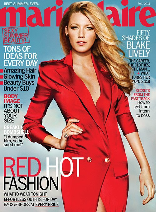 Blake Lively-Marie Claire-2012