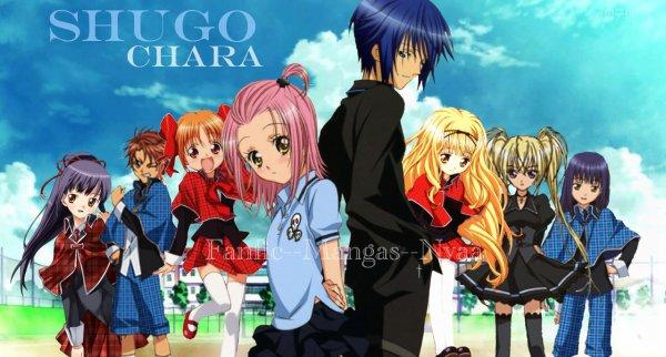 Présentation des personnages (Shugo Chara) ♥